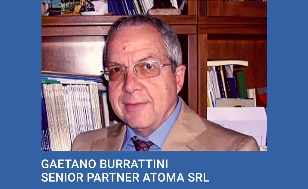 Gaetano Burrattini, Senior Partner Atoma srl